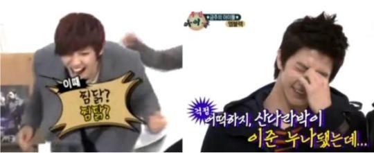 120211 MBLAQ Weekly Idol – Sandara Park Q&A