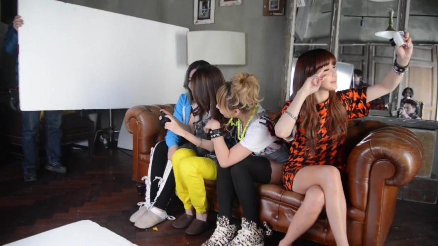 [Nikon] 2NE1 산다라박의 s ahot a day! 인물 사진편 Making 087