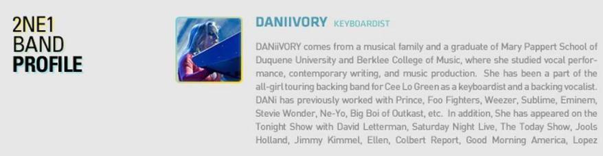 Daniivory Profile