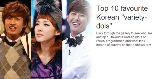 Article: Xin MSN Lists Down Their Top 10 Favourite Korean