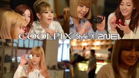 [Nikon] 2NE1의 COOLPIX 광고 촬영 현장 Making 0113