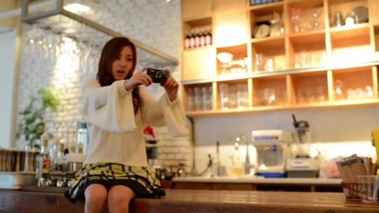 [Nikon] 2NE1의 COOLPIX 광고 촬영 현장 Making 0508