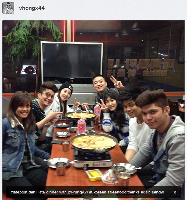 Vhong Navarro Kids Vhong: #latepost late dinner