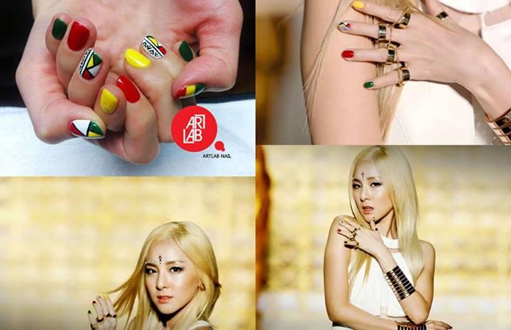 Nail Art Dara Falling In Love Nails