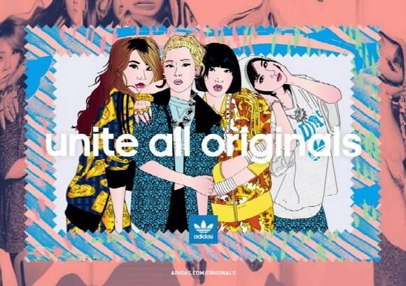 Adidas – Unite All Originals   Sneak art