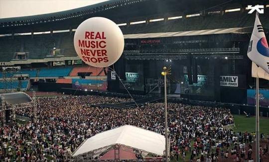 [CONCERT REVIEW] YG FAMILY SHOWS HOW IT'S DONE AT 'AIA REAL LIFE FESTIVAL'