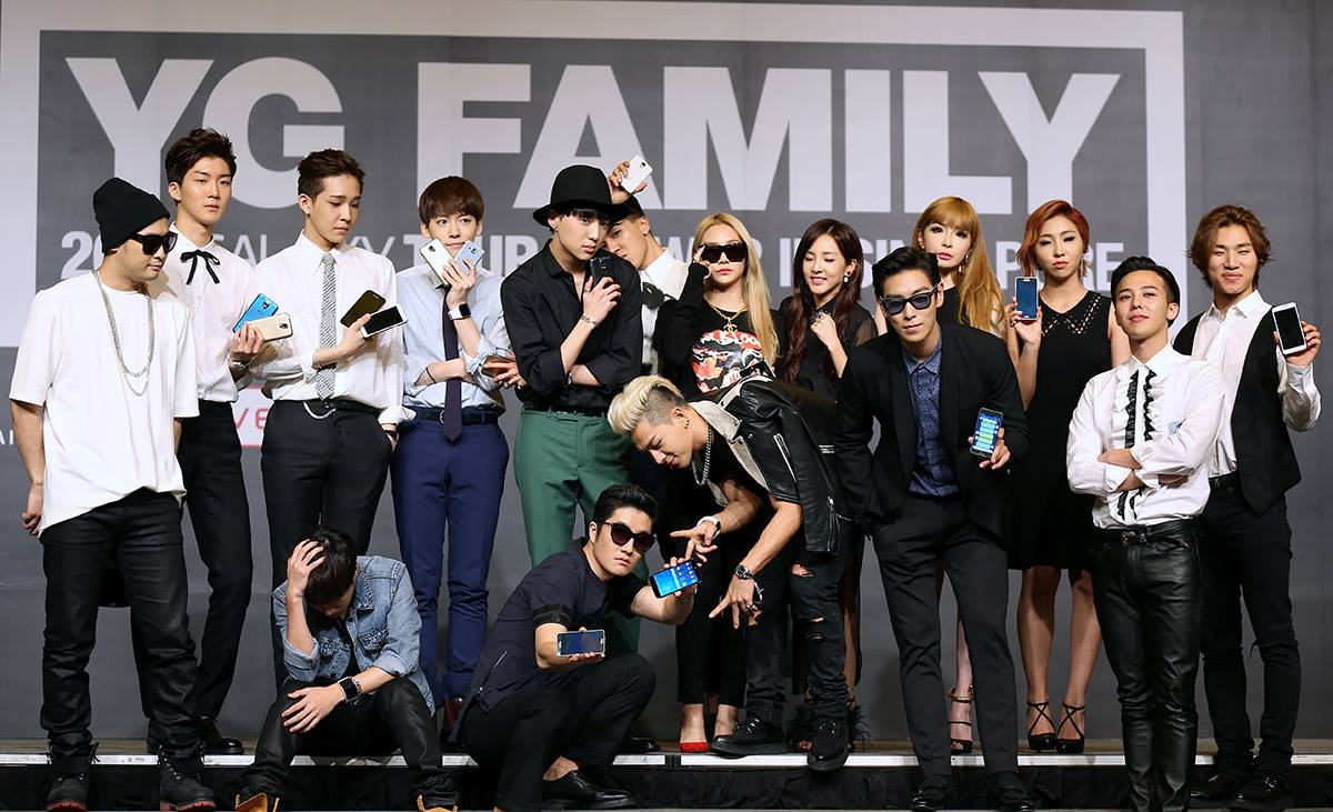 Photos: 140913 Official Pictures of YG Family at their ...
