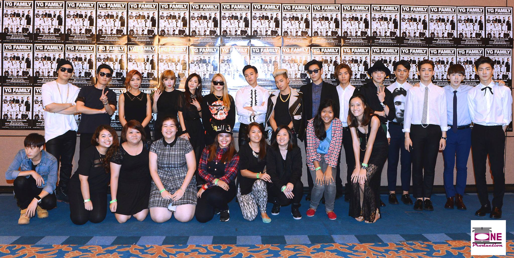 Photos: YG Family at the Meet and Greet for YG Family 2014 ...