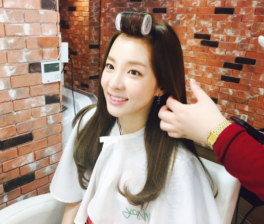 "FireShot Capture - Sandara Park on Instagram_ ""구루뿌 했다라 💇"" - https___instagram.com_p_12k6VqCSyq_"