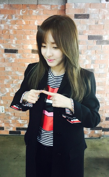 "FireShot Capture - Sandara Park on Instagram_ ""좋은아침이다라 😄 Goo_ - https___instagram.com_p_11uC53iS3A_"