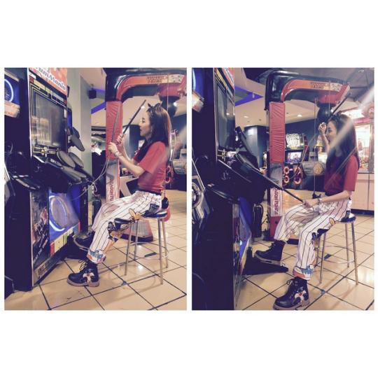 "FireShot Capture - Sandara Park on Instagram_ ""_Darammer_ in _ - https___instagram.com_p_5uVWpmCS6D_"