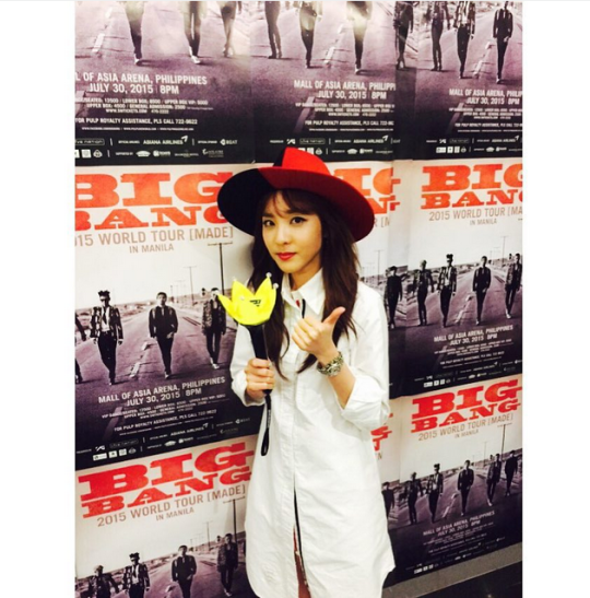 "FireShot Capture - Sandara Park on Instagram_ ""Alive Manila ✔_ - https___instagram.com_p_506vmziSwA_"