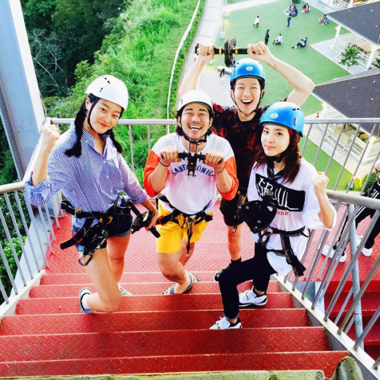 "FireShot Capture - Sandara Park on Instagram_ ""도전!!! 👊"" - https___instagram.com_p_5zq_RACS4f_"