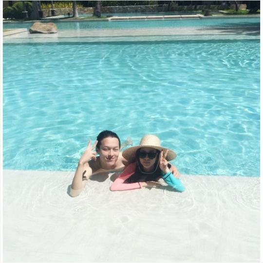 """FireShot Capture - Sandara Park on Instagram_ """"잘생긴 기용이랑~~~ 😝_ - https___instagram.com_p_59GlnoCS_b_"""