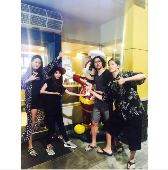 "FireShot Capture - Sandara Park on Instagram_ ""Our last dinne_ - https___instagram.com_p_57WlGMiS6a_"
