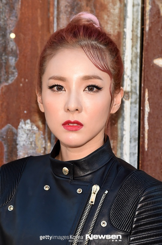 NEW YORK, NY - SEPTEMBER 11: Dara attends the Givenchy fashion show during Spring 2016 New York Fashion Week at Pier 26 at Hudson River Park on September 11, 2015 in New York City. (Photo by Michael Loccisano/Getty Images)