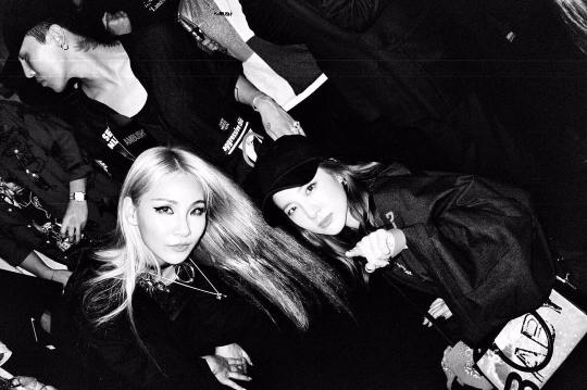 내 동생 채린이랑~?????? with CL feat. #photobomber GD ??????✌??????️