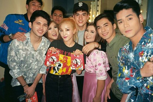 Miss u guys already. With my new friends from Pinoy Boyband Superstar ??????